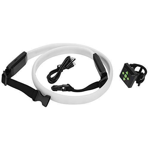 Cinturón Luminoso LED, Cinturilla LED USB Recargable, Fuerte y Duradero para niños Adultos Correr de Noche Caminar/Andar Uso al Aire Libre Equipo Deportivo 🔥