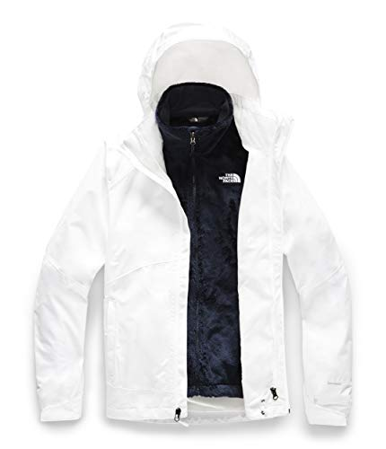 The North Face Women's Osito Triclimate Jacket, TNF White/TNF White, X-Large