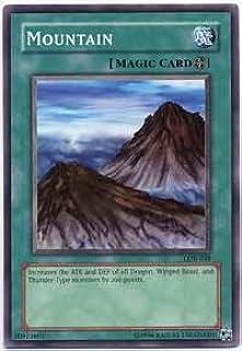 Yu-Gi-Oh! - Mountain (LOB-048) - Legend of Blue Eyes White Dragon - 1st Edition - Common