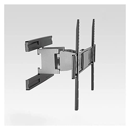 Montado en la pared TELEVISOR Soporte giratorio extensión inclinación TELEVISOR Monte Ultra Slim Embedded TELEVISOR Soporte para la mayoría de los televisores planos de 37 '-70' ( Color : Black )