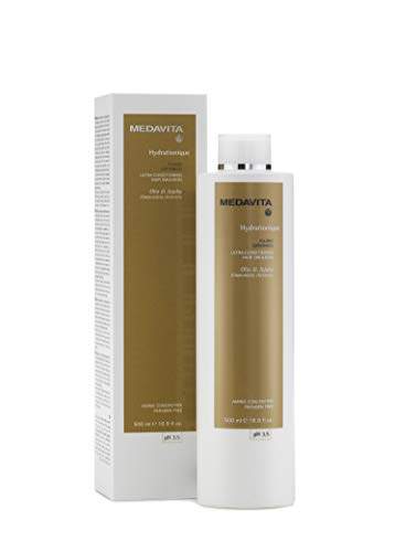 medavita hydrationique ultra conditioning hair emulsion ph 3.5 500 ml