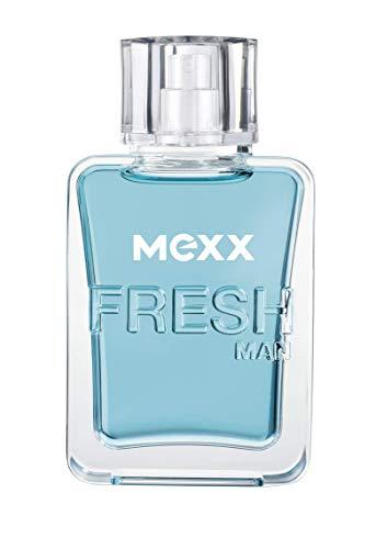 Mexx Fresh Man – Eau de Toilette Natural Spray – Aromatisches Herren Parfüm mit holzigen Noten – 1 er Pack (1 x 50ml)