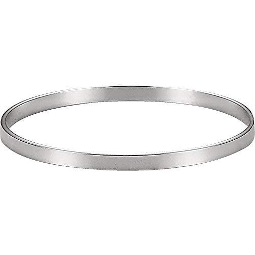 Ryan Jonathan Fine Jewelry Pulsera de plata de ley de 4,75 mm.