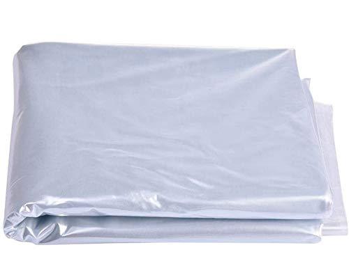 láminas de plástico de polietileno resistente de alta resistencia, material de bricolaje para jardín, paneles de techo de invernadero, invernadero de aluminio, varios tamaños (marco no incluido)