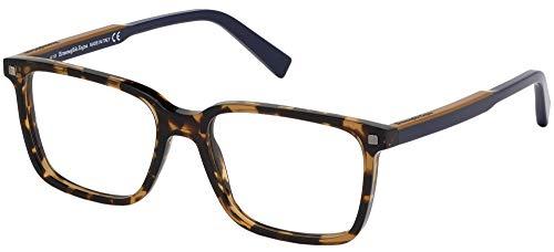 Gafas de Vista Ermenegildo Zegna EZ5145 Light Havana 54/17/145 unisex