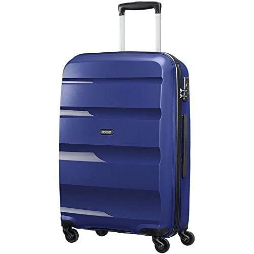 American Tourister Bon Air - Spinner L, Valigia, 75 cm, 91 L, Blu (Midnight Navy)