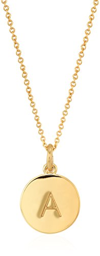 """Kate Spade """"One in a Million"""" Initial Necklace"""