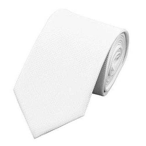Jason & vogue designer jaquardgewebt cravate blanc