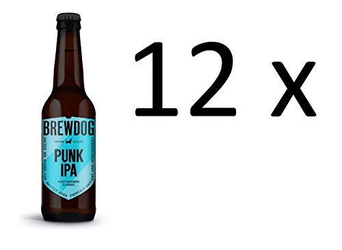 Brewdog Punk IPA Post Modern Classic 12 Flaschen a 330ml 5,6% Vol. inc. Mehrweg Pfand