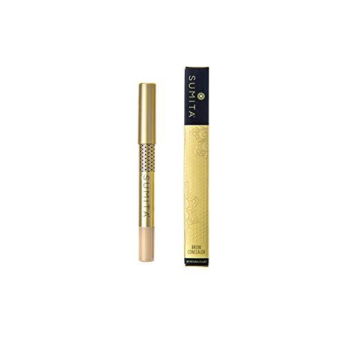SUMITA Brow Concealer, lápiz corrector de cejas profesional, resistente al agua, enriquecido con aceite de semilla de jojoba y vitamina E, Made in Korea