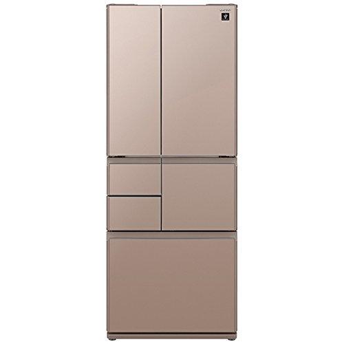 シャープ 冷蔵庫 メガフリーザー プラズマクラスター搭載 505Lタイプ メタリックブラウン SJGT51C-T