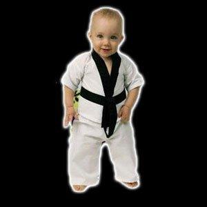 Playwell Artes Marciales Bebé Niño Uniforme de Karate (Traje ) - 6-12 Meses