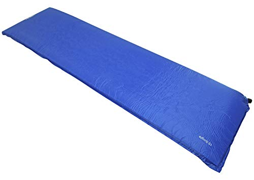 Andes Explora Blue 10cm Single Self Inflating Camping Mat Mattress Camp Bed