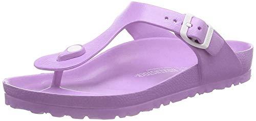 Birkenstock Unisex Gizeh Essentials EVA Sandals, Lavender, 38 R EU
