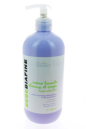 BébéBiafine Crème Lavante Cheveux et Corps 500 ml