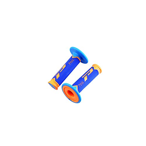 revetement/poignee progrip 788 Orange Fluo/Bleu (pr) Triple densite 115mm