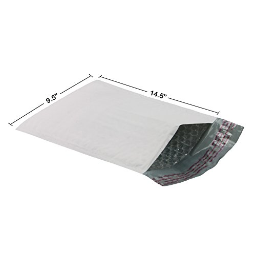 Poly Bubble Mailer 9.5'X14.5' #4- Pack of 100