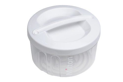 Milton Combi Microwave and Cold Water Steriliser (White), 26 x 26 x 16 cm