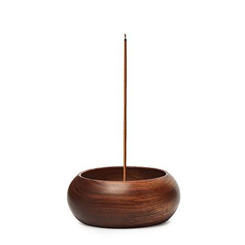 Nawo Wooden Handmade Incense Stick Holder - Incense Burner Made from Mkuruti - Insences Holder