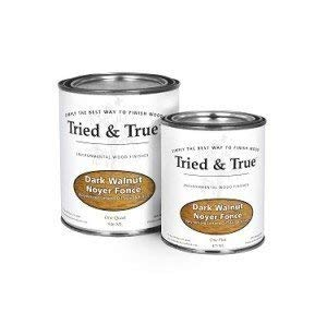 Tried and True Wood Stain- 100% solvent free, zero VOC