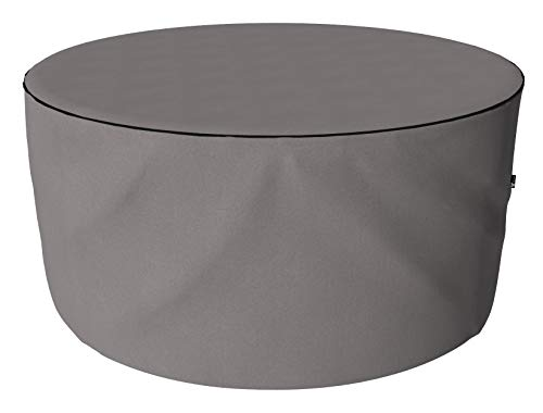 SORARA Protective Cover for Round Table Set | Grey | Ø 190 x 90 cm | water repellent