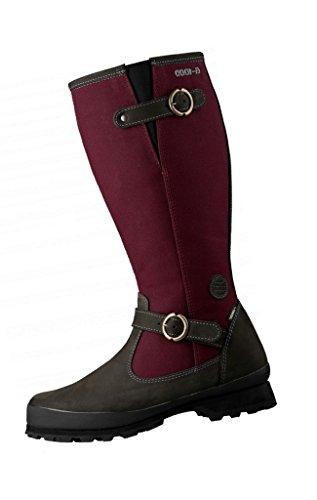 Hanwag W Tolja Lady GTX Rot, Damen Gore-Tex Winterschuh, Größe EU 43 - Farbe Dark Garnet