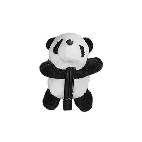 niumanery Panda Headband Headwear Hair Clip Cute Pins Brooch Headdress Lovely Girls Stuffed Animal Soft Plush Decoration Hairband Children Adults Party Photography 4#