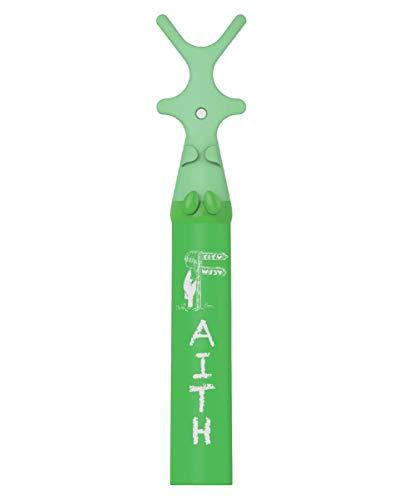 toothbat Kinder Zahnseide-halter für die perfekte Mund-reinigung und Zahn-reinigung, Interdental-reinigung, professionelle Mund-hygiene (1 Childers green)