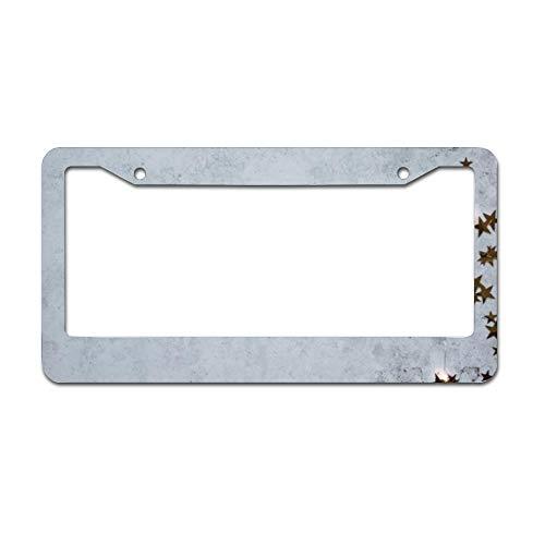 Mesllings grijs betonnen bestrating plaat frame, Licentie Tag Houder 12