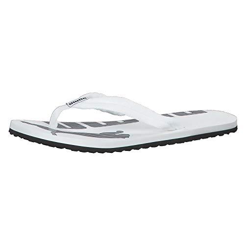 Puma Unisex-Erwachsene Epic Flip V2 Dusch- und Badeschuhe, Weiß (white-black), 37 EU