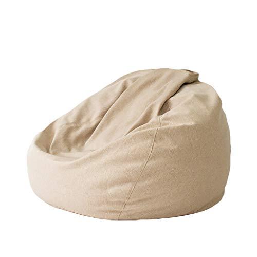 Chaises Longues canapé Chaise de Loisirs canapé Pouf Bean Bag Dossier Balcon Chambre à Coucher Leisure Portable 10 Styles (Couleur : D, Taille : 110 * 90cm)