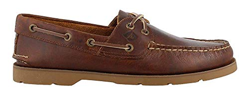 Men's Sperry, Leeward X Lace Boat Shoe Yacht Club TAN 11 M