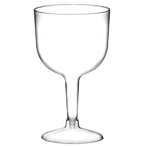We Can Source It Ltd - Large Plastic Gin Cocktail Glasses 26.2oz/745ml, Two Piece Design Cocktail Glass - 500 Pack