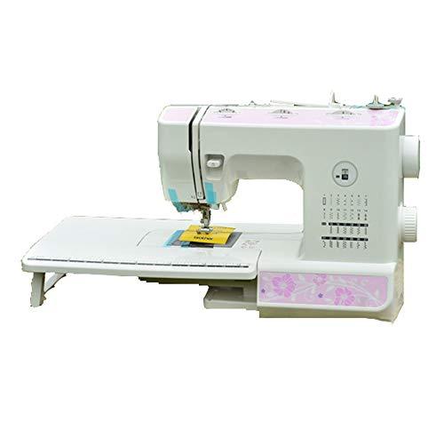 Naaimachine-27 steekpatronen met 2 snelheden, elektrische voetpedaal, naaimachine met dubbele snelheidsregeling en verwisselbare naaimachine