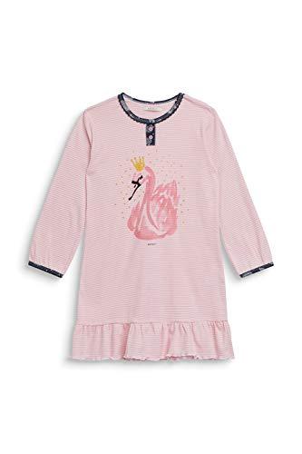 ESPRIT Mädchen JAKY MG Nightshirt Nachthemd, Rosa (Old Pink 680), 140 (Herstellergröße: 140/146)