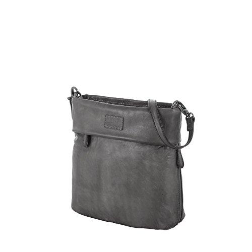 Rada Nature Umhängetasche 'Arezzo' echt Leder Tasche in verschiedenen Farben (grau)