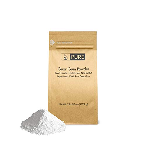 Guar Gum Powder (2 lb.), 100% Food Safe , Gluten-Free, Non-GMO, Thickening Agent