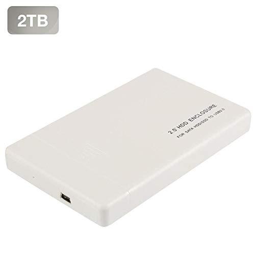 Disco Duro Externo Ultrafino Diseño Metálico HDD Portátil de ...