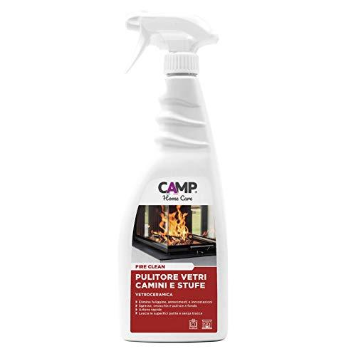 Camp FIRE CLEAN, Pulitore concentrato per vetroceramica, termocamini, camini e stufe
