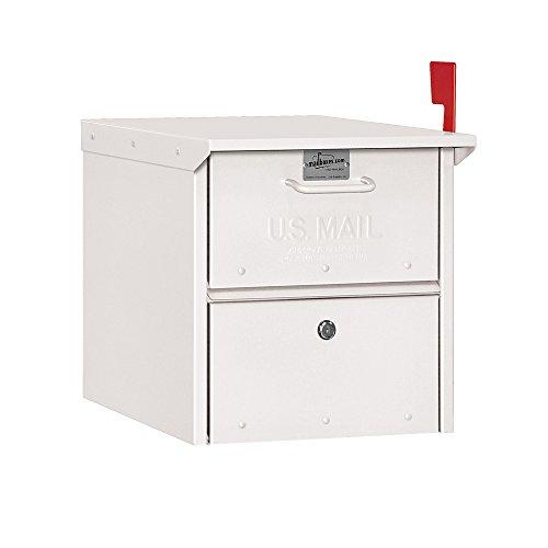 Salsbury Industries 4325WHT, White Roadside Residential Mailbox