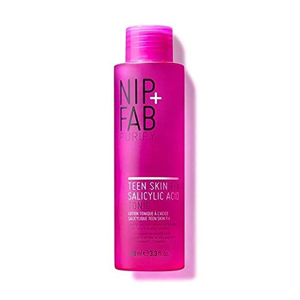 セグメント啓発する入植者[Nip & Fab] + Fab十代の肌サリチル酸トニック100ミリリットルニップ - Nip+Fab Teen Skin Salicylic Acid Tonic 100ml [並行輸入品]