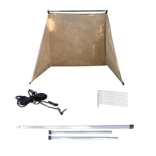 Toldo de algodón para camping, protección contra el viento, camping, picnic, viajes, playa, picnic, protección contra el viento, tienda de campaña, toldo, protección contra el viento
