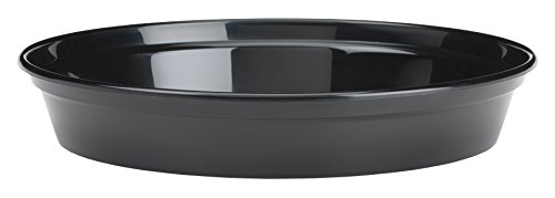 Stewart 4842005 13 - 15 cm Flower Pot Saucer - Black (Pack of 5)