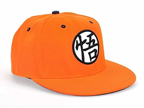 CosplayStudio Dragon Ball - Gorra de béisbol con letras