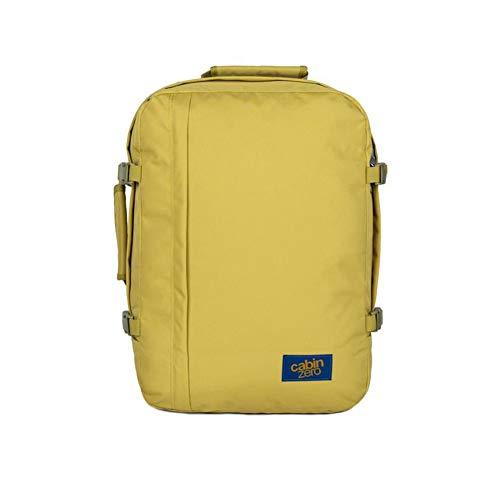 Cabin Zero Classic 36 Travel backpack yellow green