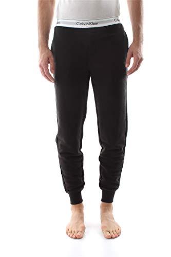 Calvin Klein Herren Markenbund Pyjama Bottoms, Schwarz, Small