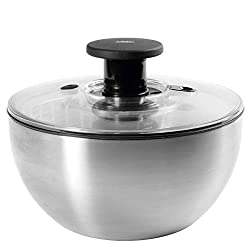 Oxo Steel Salad Spinner, 5-Quart