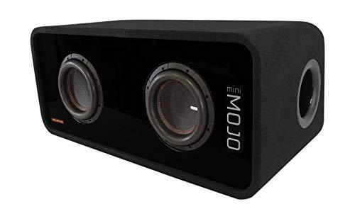 Memphis Audio MJME8D1 Dual 8' 3600w MOJO Loaded 1 Ohm Car Subwoofer Enclosure
