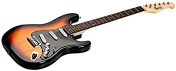 Indio by Monoprice Cali Classic Electric Guitar with Gig Bag