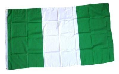 Nigeria vlag 150 x 90 cm